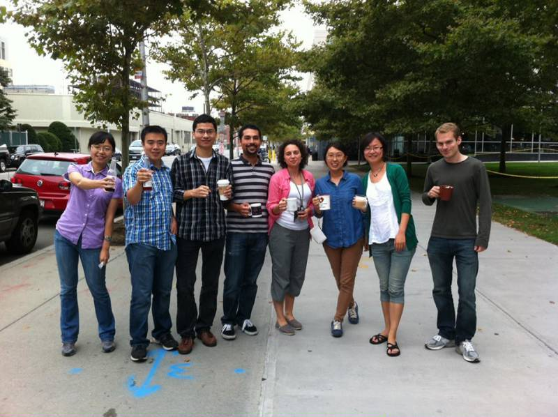 Lab Coffee Outing 2013